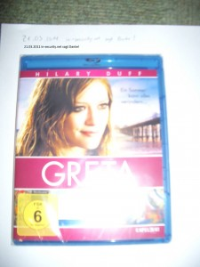 Blu-Ray Greta