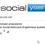 Anfrage an Socialyser
